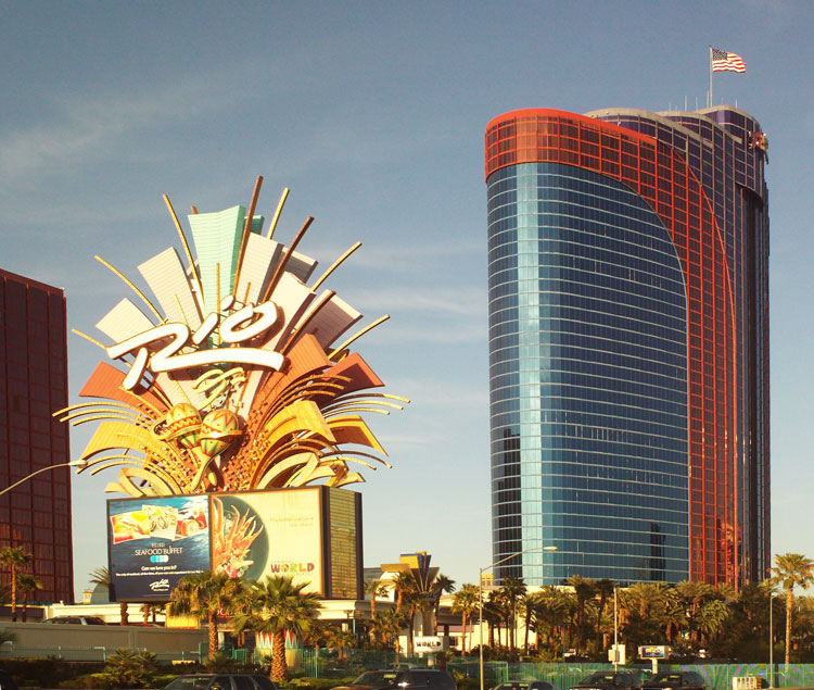 Rio Hotel, Las Vegas, site of the 2017 World Cat Congress