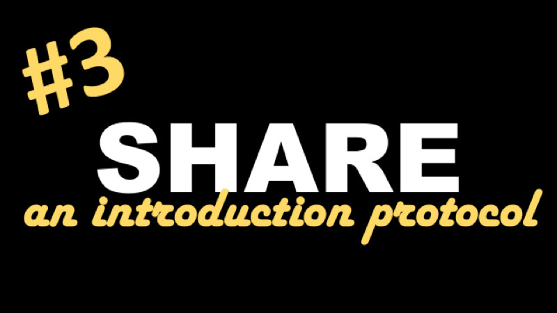Share an introduction protocol